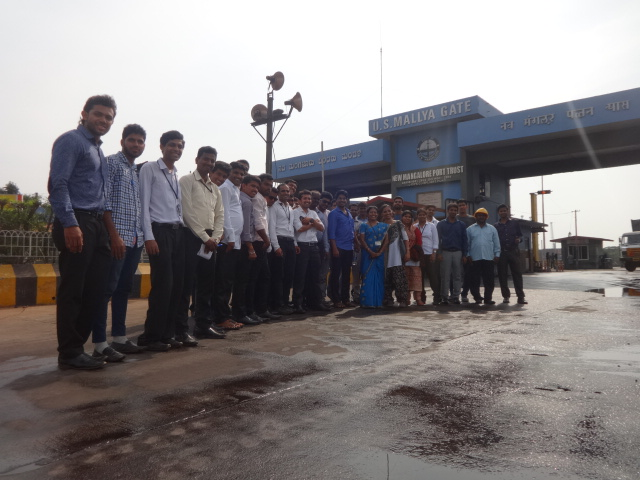 Industrial Visits and Tours for M.B.A (International Business) Studens