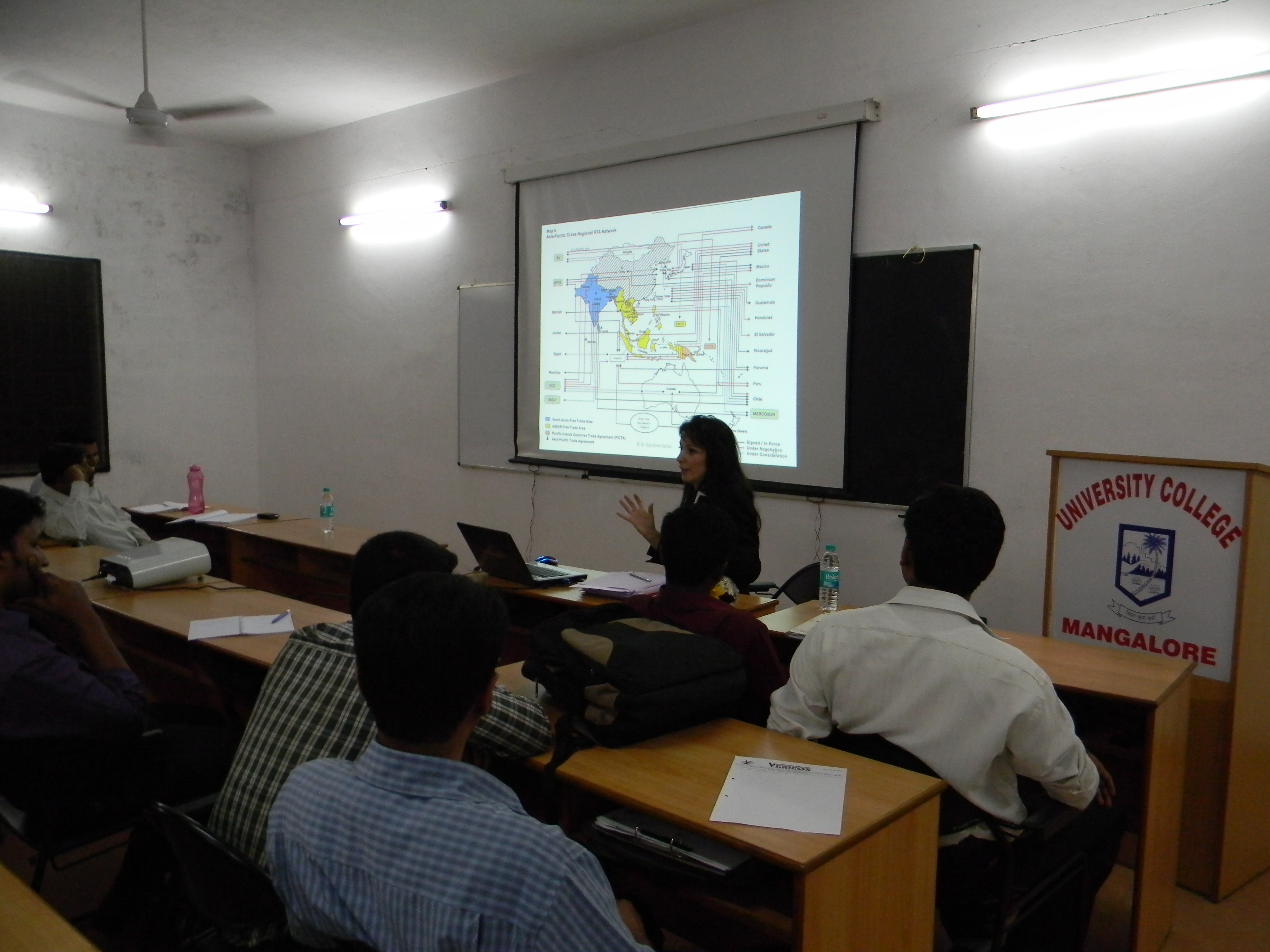 Special Lecture for M.B.A (International Business) Studens