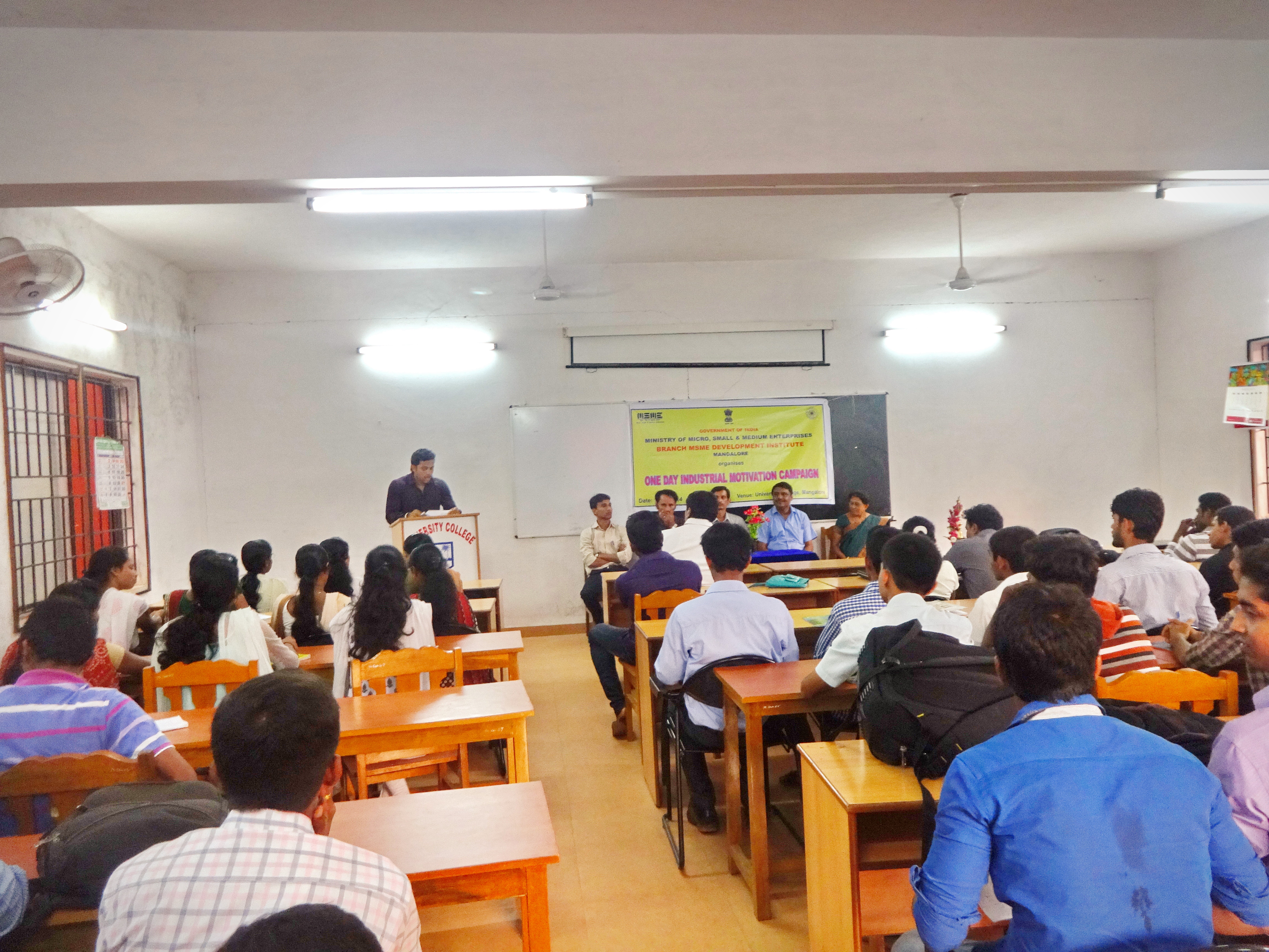 Workshop for M.B.A (International Business) Studens